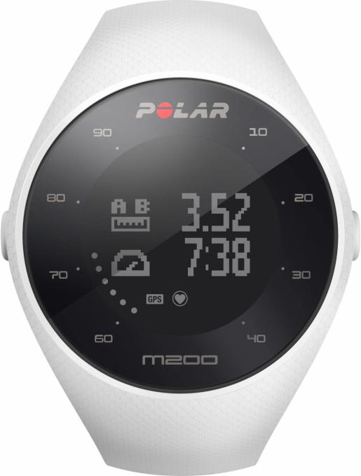 Armband Polar M200  White Gr. S/M