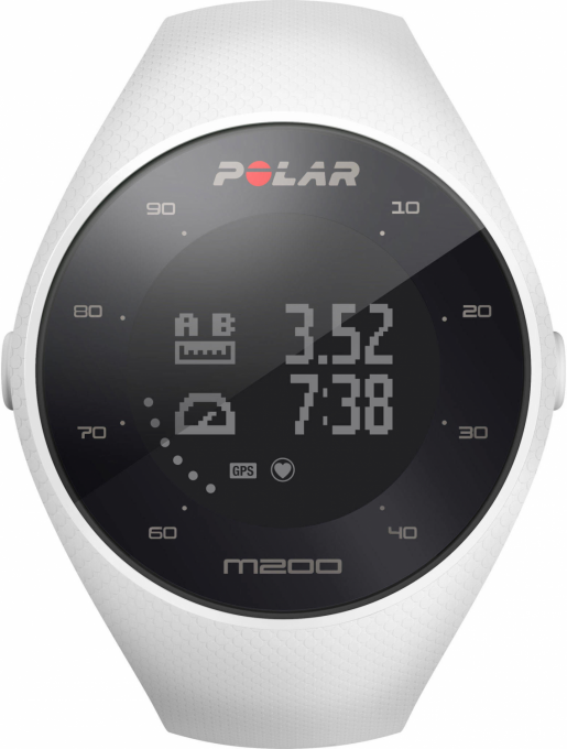 Polar M200 White Gr. M/L